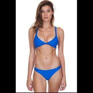 3 pcs bright blue Mikoh Bikini size (m) gorgeous